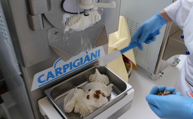 Il Syncro Corner di Carpigiani, leader mondiale delle macchine per gelati